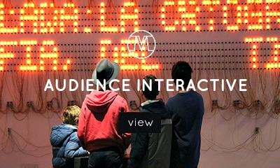Audience Interactive, VoxMagna Agency, Mariana Rinaldi, installations, digital artists, technological artists