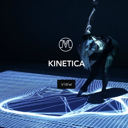 VoxMagna Kinetica dance and projection