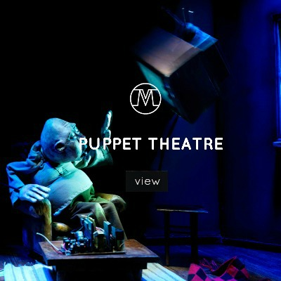 VoxMagna Agency, Puppet Theater, New Media artists, technological artists, art, puppets, events