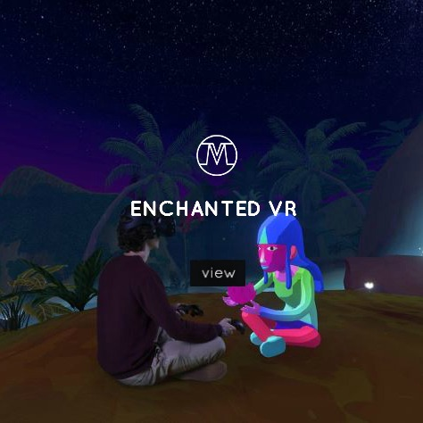 VoxMAgna Agency, Enchanted VR, enchanted forest, Virtual reality, VR intallation, immersive experience, digital artists, digital art, technological arts, technology, arts, Mariana Rinaldi